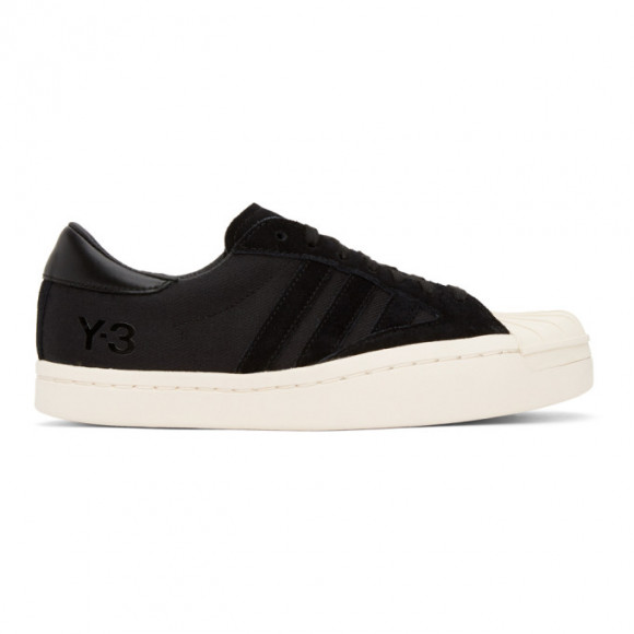 Y-3 Black Suede Yohji Star Sneakers - FX0832-FTW-35-D2