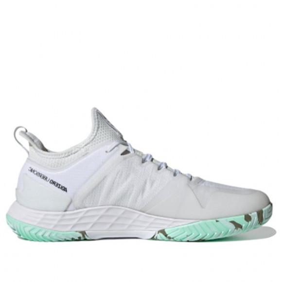 adidas Adizero Ubersonic 4 Parley Hard Court Tennis Shoes Cloud White Mens