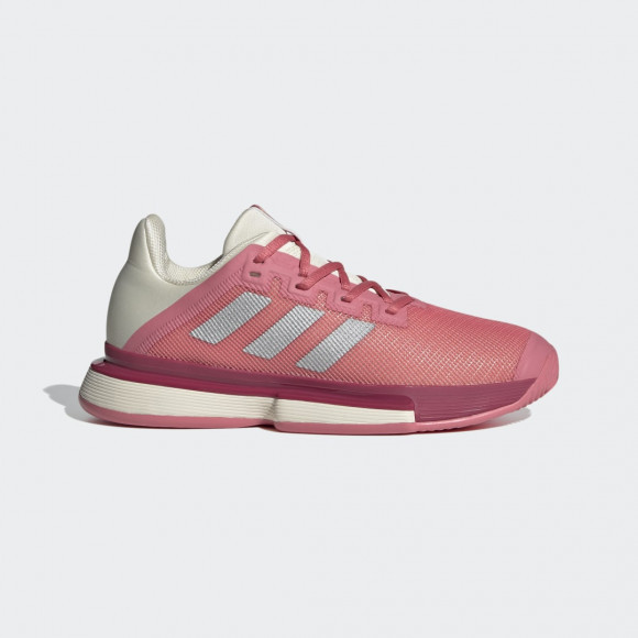 adidas SoleMatch Bounce Tennis Shoes Hazy Rose Womens - FX1740
