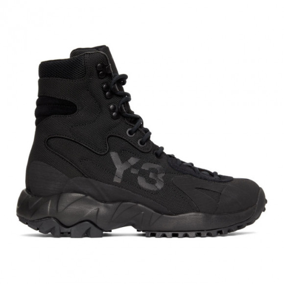 Y-3 Black Notoma Boots - FX1770-FTW-38-D3