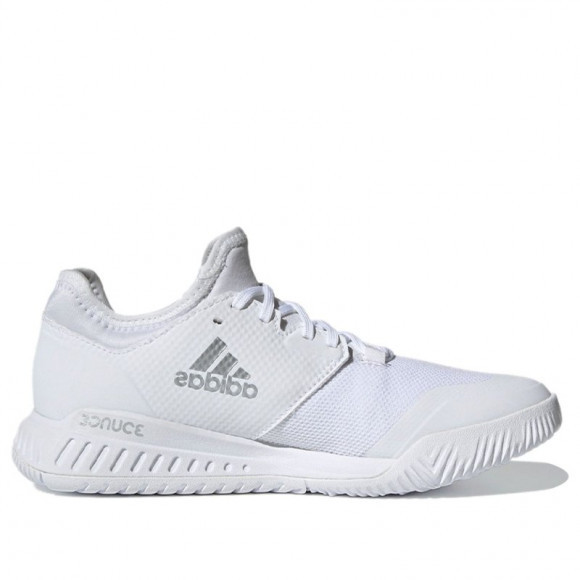 adidas Court Team Bounce Indoor Shoes Cloud White Womens - FX1805