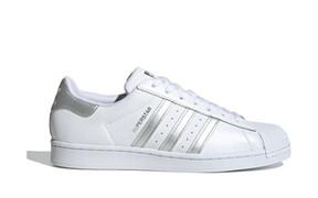 Adidas Superstar 'White Silver Metallic