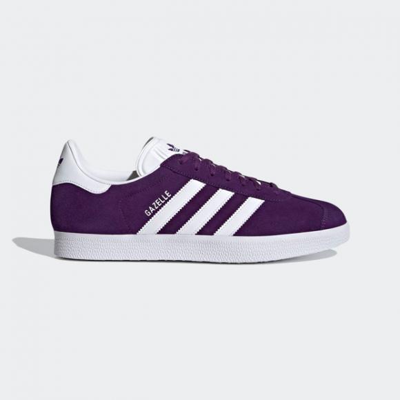 adidas Gazelle Shoes Rich Purple Mens - FX5496