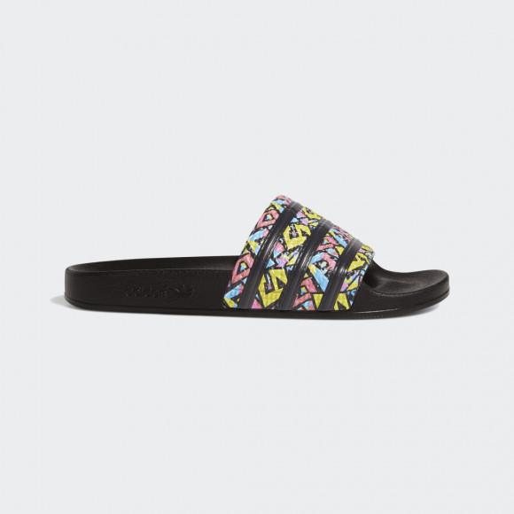 adidas Adilette Slides Core Black Mens - FX5856