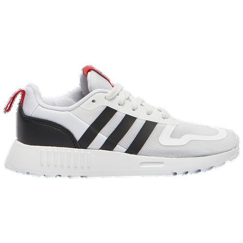 adidas Originals Multix - Boys' Preschool Running Shoes - White / Black / Scarlet