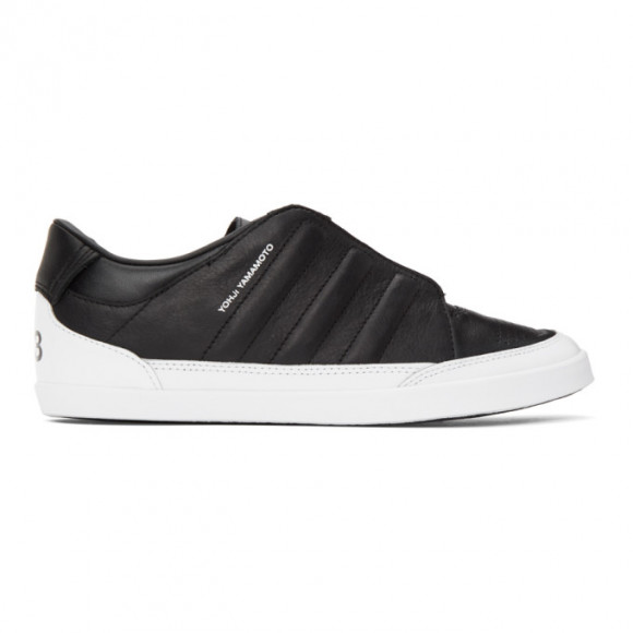 Y-3 Black Honja Low-Top Sneakers - FX7264