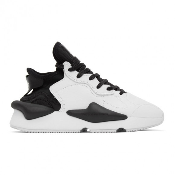 Y-3 Black and White Kaiwa Sneakers - FX7280-FTW-1-D1