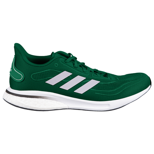 adidas Supernova - Men's Running Shoes - Team Dark Green / Silver Metallic / Core Black