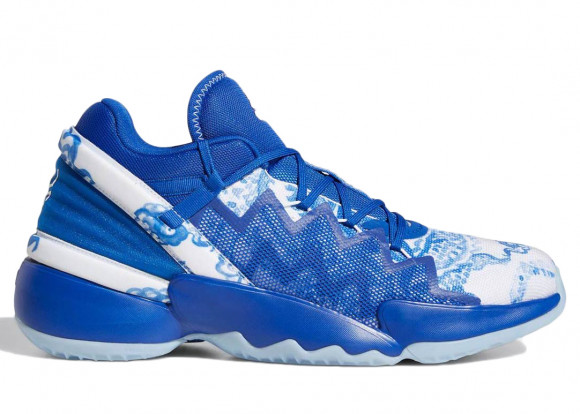 adidas Donovan Mitchell D.O.N. Issue #2 Shoes Royal Blue Mens - FX7426