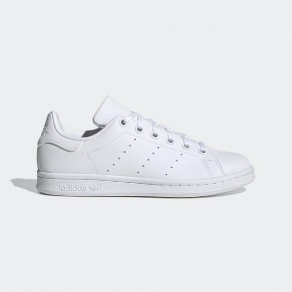 adidas Originals Stan Smith - Boys' Grade School Tennis Shoes - White / White / White - FX7520