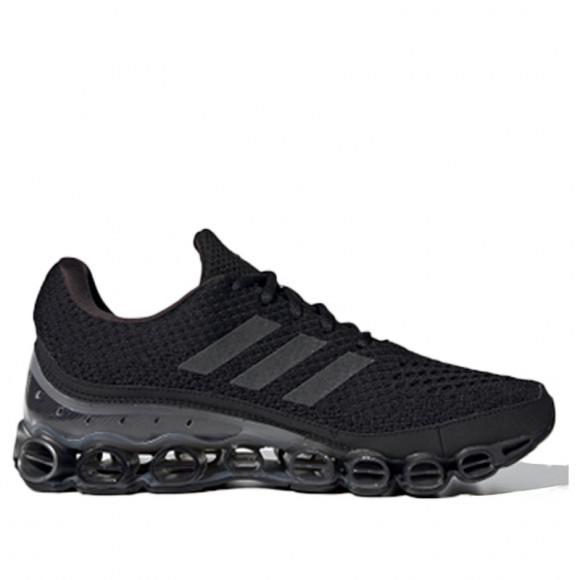 Adidas Microbounce 'Black' Black/Grey/Silver Marathon Running Shoes/Sneakers FX7700 - FX7700