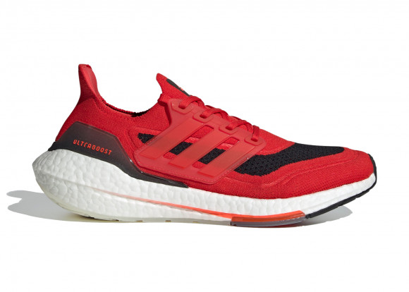 adidas Ultraboost 21 Shoes Vivid Red Mens - FY0387