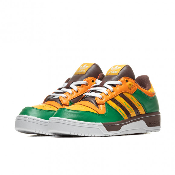Mens adidas Originals x Human Made Rivalry - Green, Green - FY1084