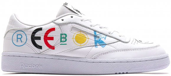 Reebok Club C 85 BlackEyePatch White - FY3073