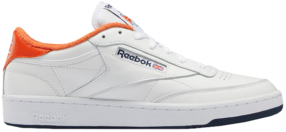 Reebok Club C 85 Eric Emanuel White Orange Navy - FY3413