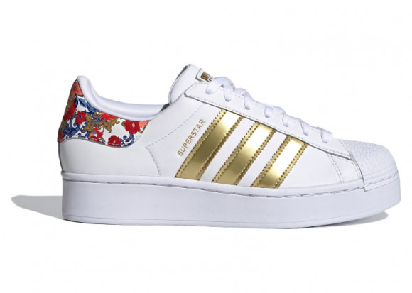 adidas Superstar Bold Shoes Cloud White Womens