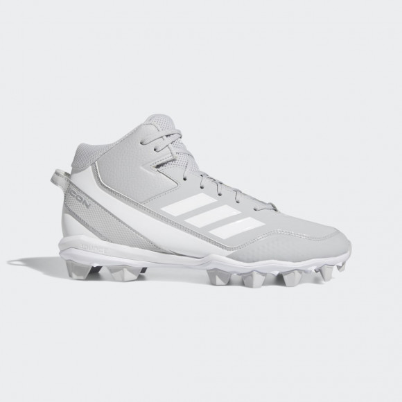 adidas Icon 7 Mid MD Cleats Team Light Grey Mens - FY4391