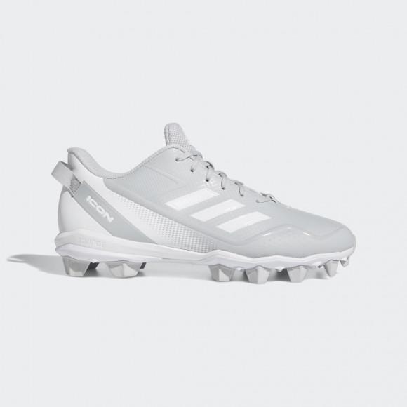 adidas Icon 7 Mid Cleats Team Light Grey Mens - FY4433