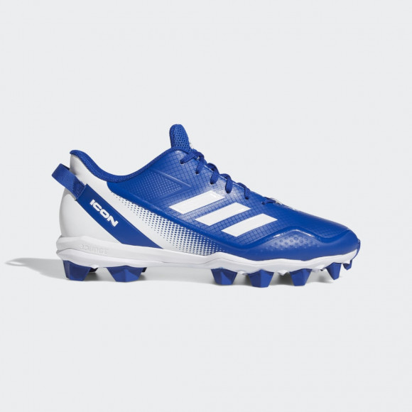 adidas Icon 7 Mid Cleats Royal Blue Mens - FY4440