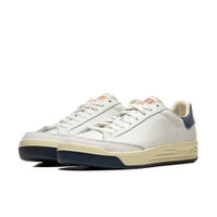 adidas Rod Laver Aniline White Navy - FY4492