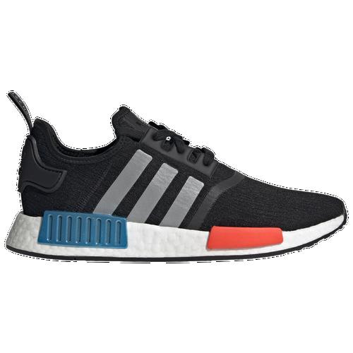 adidas Originals NMD R1 - Men's Running Shoes - Black / Silver / Red