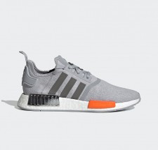 adidas NMD R1 Halo Silver Bahia Orange - FY5730