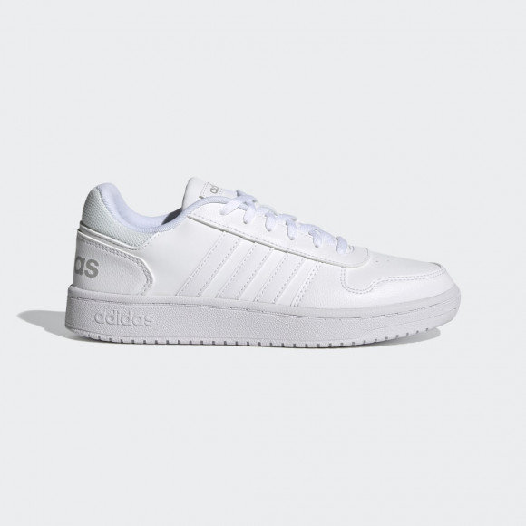 adidas Hoops 2.0 Shoes Cloud White Womens