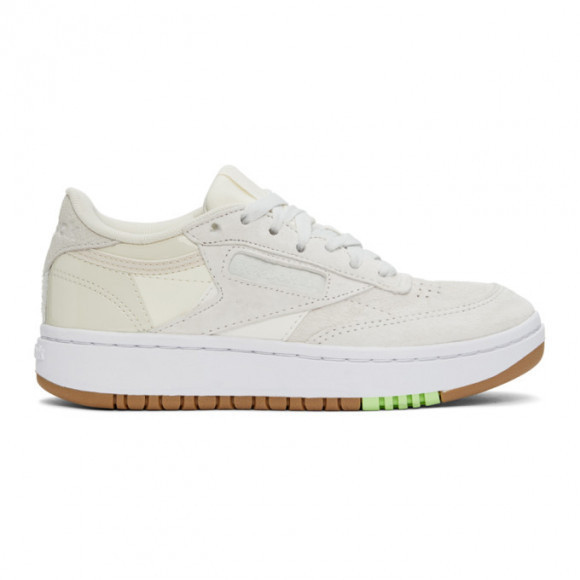 Reebok Classics Off-White Club C Double Sneakers - FY7297