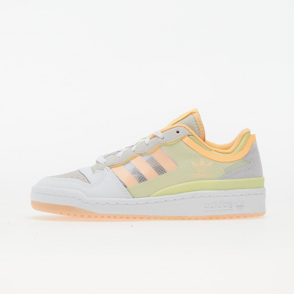 adidas Forum Low TT W Ftw White/ Yellow Tint/ Active Orange - FY8013