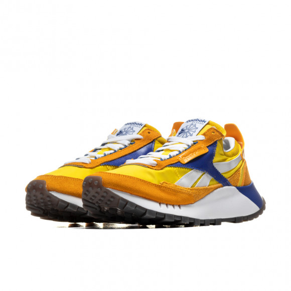 Reebok Mens Reebok Classic Leather Legacy - Mens Shoes Collegiate Gold/Bold Yellow/Team Dark Royal Size 09.5 - FY8326