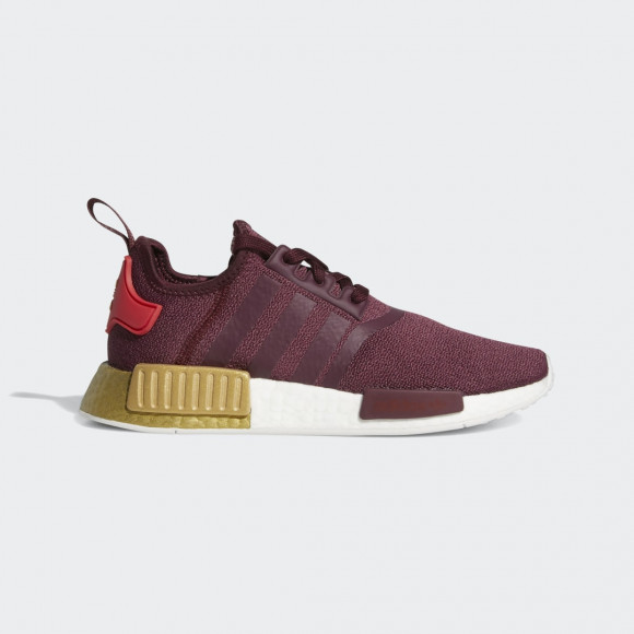 adidas NMD_R1 Shoes Maroon Womens - FY9390