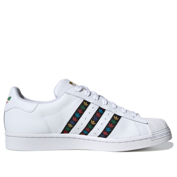 Adidas Superstar 'White Multi' Footwear White/Core Black/Gold Metallic Sneakers/Shoes FZ0059 - FZ0059
