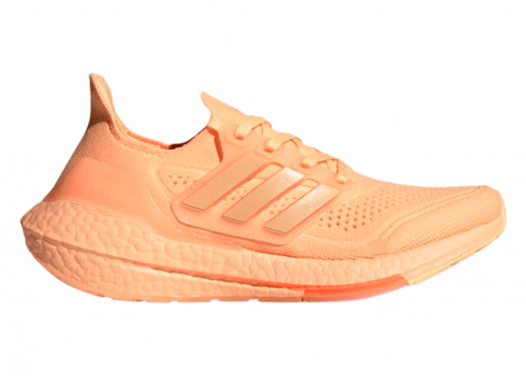 adidas Ultraboost 21 Shoes Acid Orange Womens - FZ1918