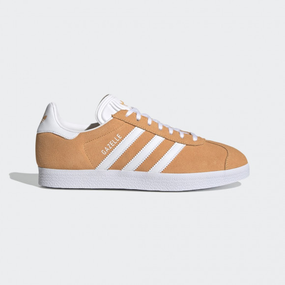 adidas gazelle orange blanche