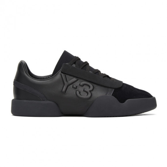 Y-3 Black Yunu Sneakers - FZ4325