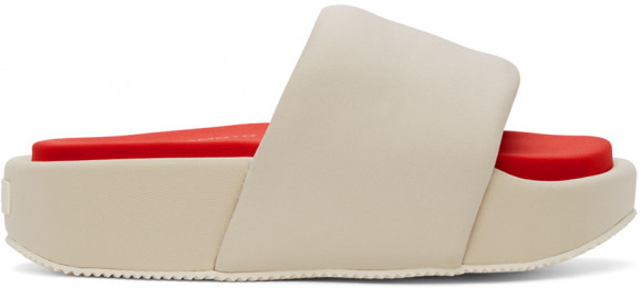 Y-3 Slide Clear Brown/ Off White/ Red - FZ4504
