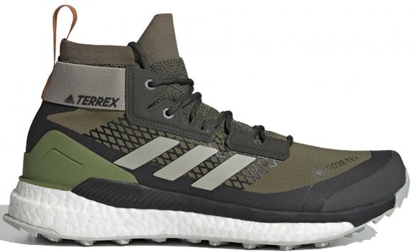 adidas Terrex Free Hiker Gore Tex Raw Khaki