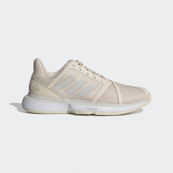 adidas CourtJam Bounce Shoes Linen Womens - G26834