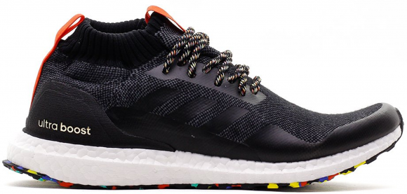 adidas Ultra Boost Mid Black Multi-Color - G26841