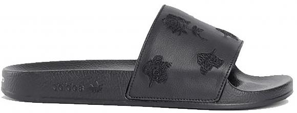 adidas Y-3 Adilette Rose Black - G26892