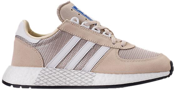 Adidas Womens WMNS Marathon Tech 'Ecru Tint' Ecru Tint/Cloud White/Clear Brown Marathon Running Shoes/Sneakers G27695