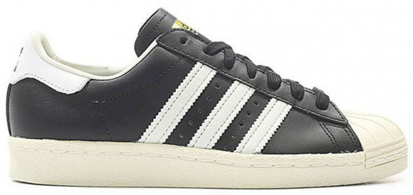 adidas superstar black and white 80s