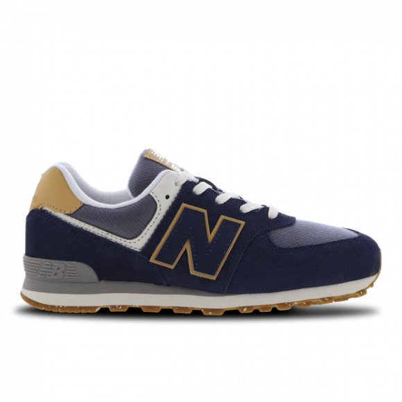 New Balance GradeBoys GC574V1 - Blue/Beige - Size 3.5, Blue/Beige - GC574AB1