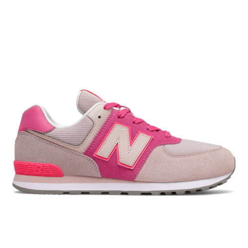New Balance 574 - Oyster Pink met Sporty Pink - GC574WM1