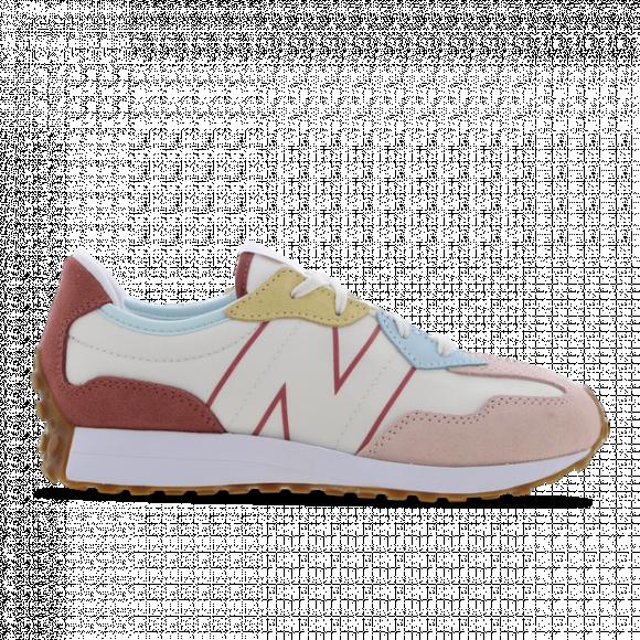 New Balance 327 - Girls' Grade School Running Shoes - Oyster / Pink / Henna - GS327HG1