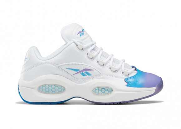 Reebok Question Low Radiant Aqua Hyper Purple - GV7629