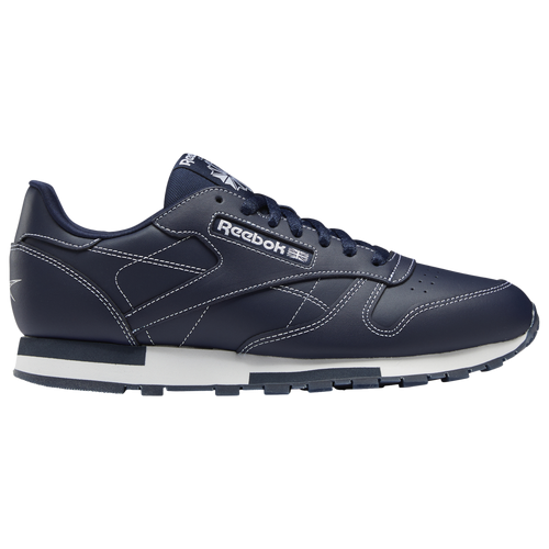 Reebok Classic Leather - Men's Running Shoes - Vector Navy / Vector Navy / White - GW0152
