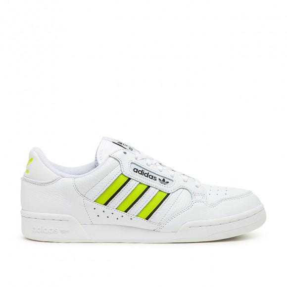 adidas Continental 80 Stripes (Weiß / Gelb)