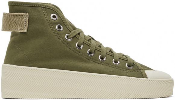 adidas Originals Green Parley Edition Nizza Hi Sneakers - GW3508