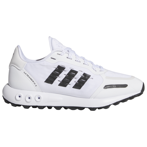 adidas Originals LA Trainer III - Boys' Grade School Running Shoes - White / Black - GW7693